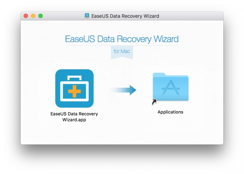 「EaseUS Data Recovery Wizard Free」インストール画面