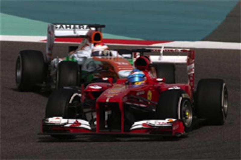 2013年フェラーリ・アロンソ