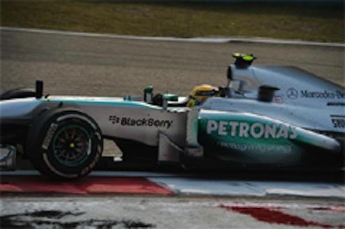 2013F1中国GP予選