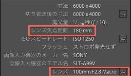α99+TAMRON180mmMacroでAF-D