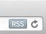 アドレスバー右端に「RSS」と書いてあるアイコンが出ている