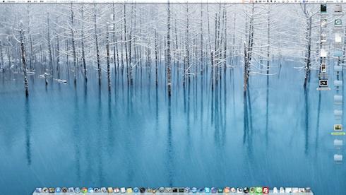 iMacデスクトップ
