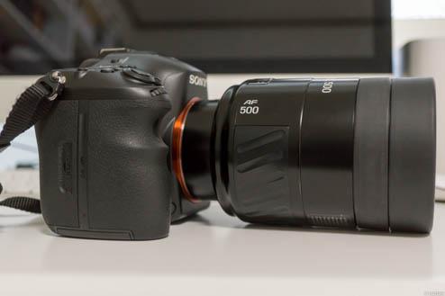 MINOLTA AF500mmF8Reflex
