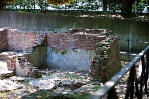 元町公園の廃墟