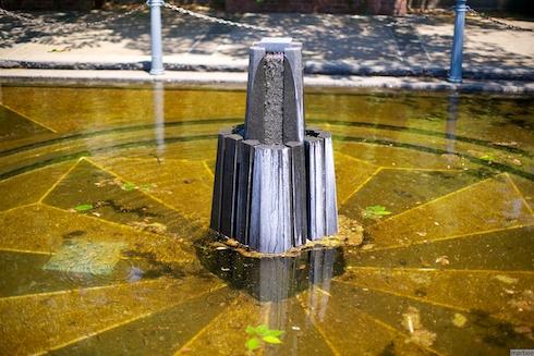 元町公園の噴水?
