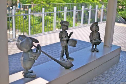 人形の館入り口の人形