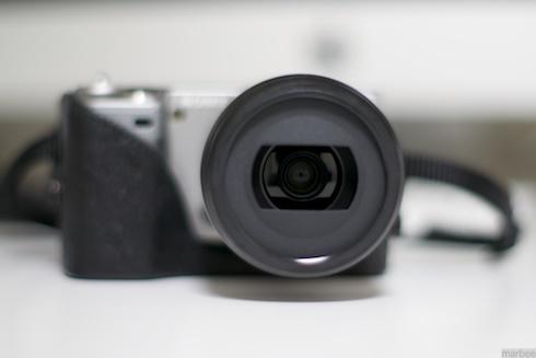 E30mmF3.5MacroをNEX-5に装着