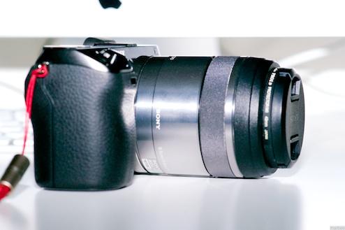 NEX-7+E30mmMacro(側面)
