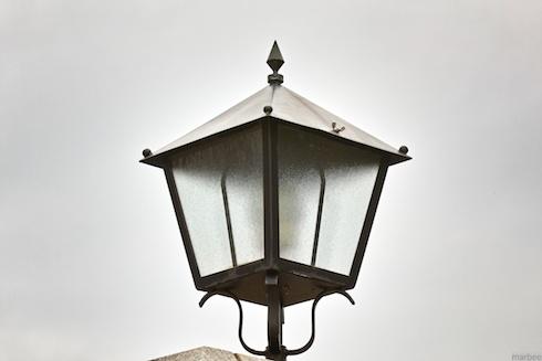 外国人墓地街灯