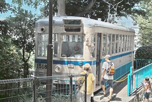 野毛山動物園の電車