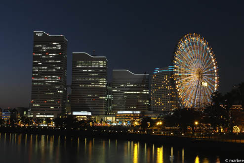 万国橋からの夜景