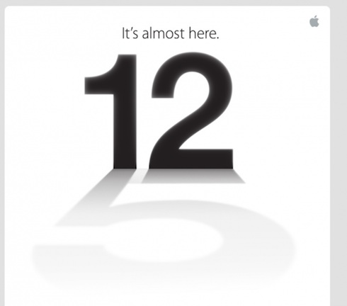 Appleの9月12日のイベントの予告